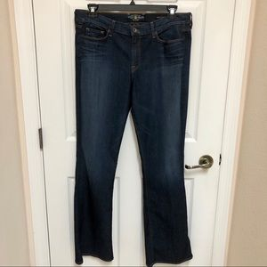 🍀 LUCKY Brand Sofia Boot Cut Jeans Size 18/34